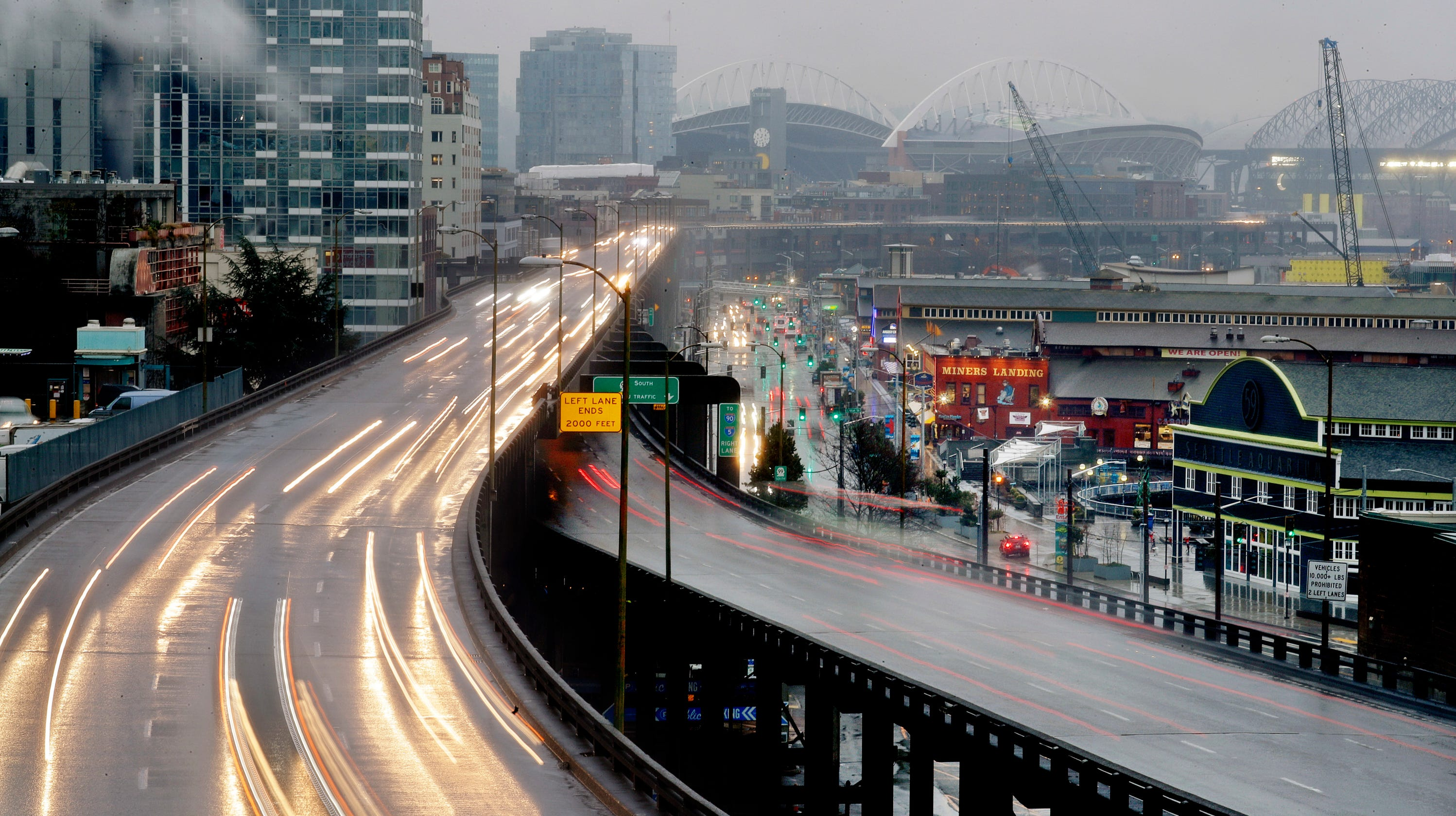 Seattle braces for traffic squeeze with closure of Alaskan