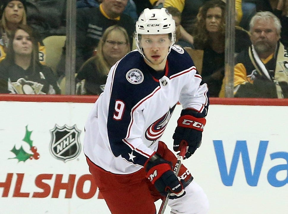 Distillery offers Blue Jackets' Artemi Panarin a lifetime supply of vodka if he re-signs