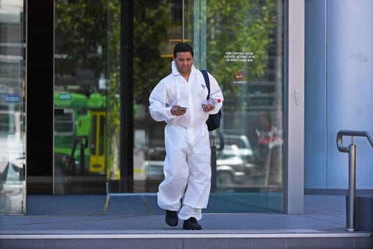 Epa Australia Consulate Suspicious Packages Clj Crime Aus Vi