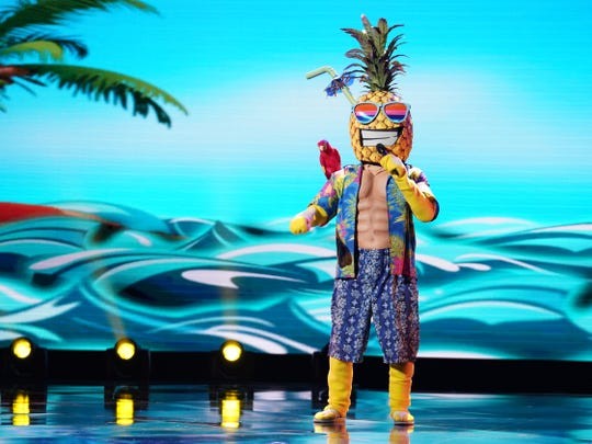 """The Pineapple on """"The Masked Singer."""""""