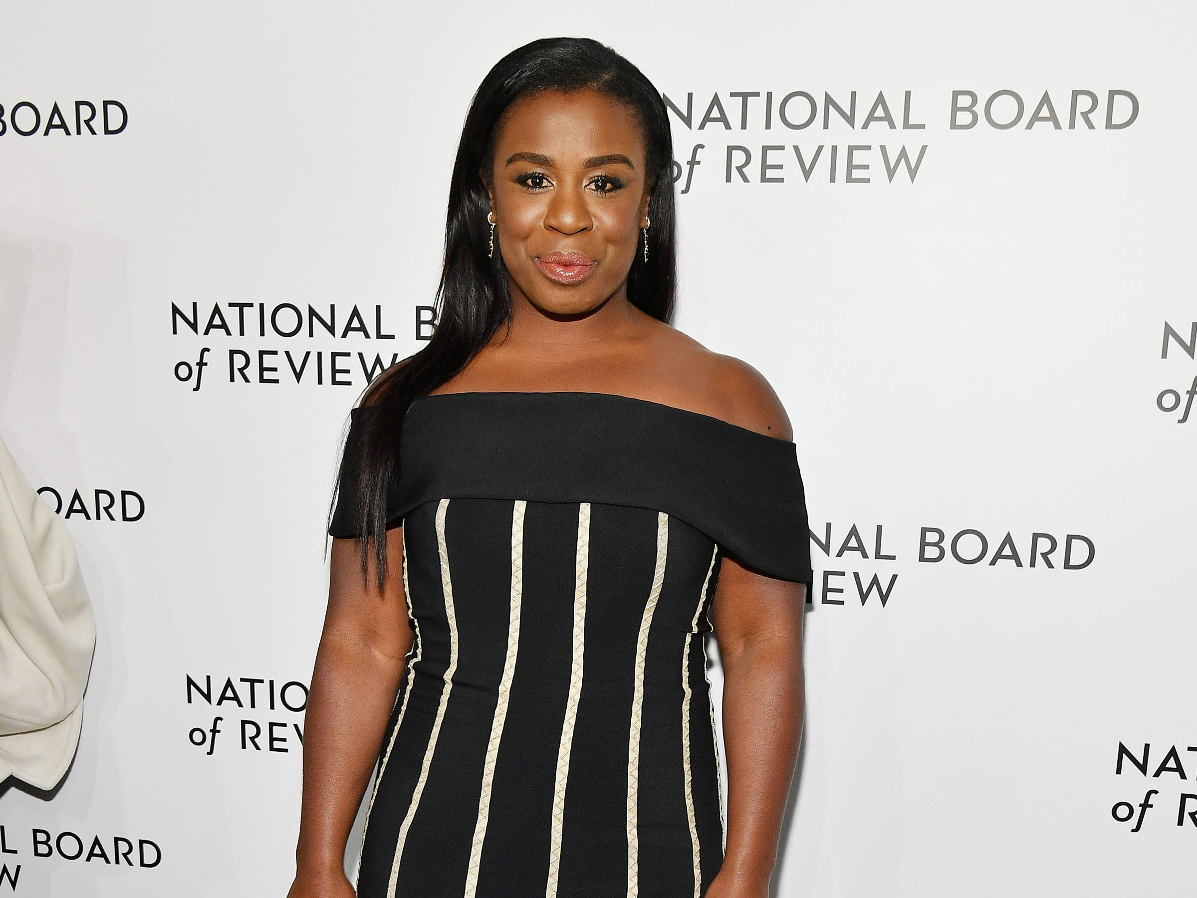 NEW YORK, NY - JANUARY 08: Uzo Aduba attends The National Board of Review Annual Awards Gala at Cipriani 42nd Street on January 8, 2019 in New York City.  (Photo by Dia Dipasupil/Getty Images for National Board of Review) ORG XMIT: 775259363 ORIG FILE ID: 1079453176
