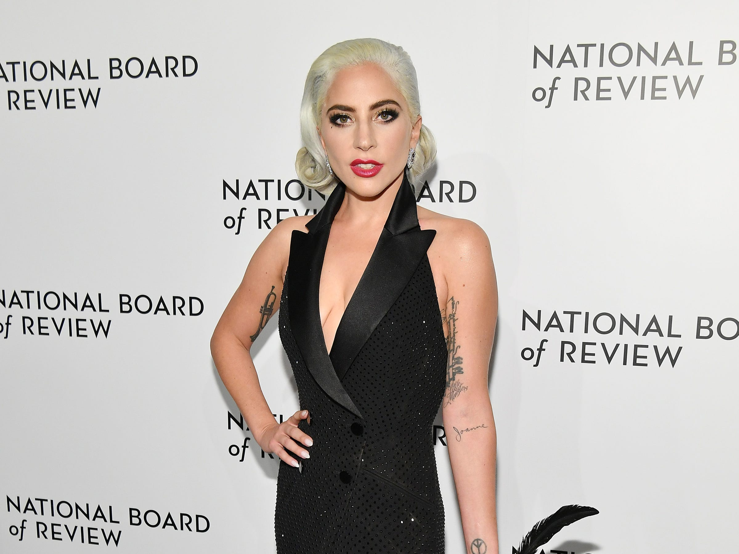 NEW YORK, NY - JANUARY 08: Lady Gaga attends The National Board of Review Annual Awards Gala at Cipriani 42nd Street on January 8, 2019 in New York City.  (Photo by Dia Dipasupil/Getty Images for National Board of Review) ORG XMIT: 775259363 ORIG FILE ID: 1079453756