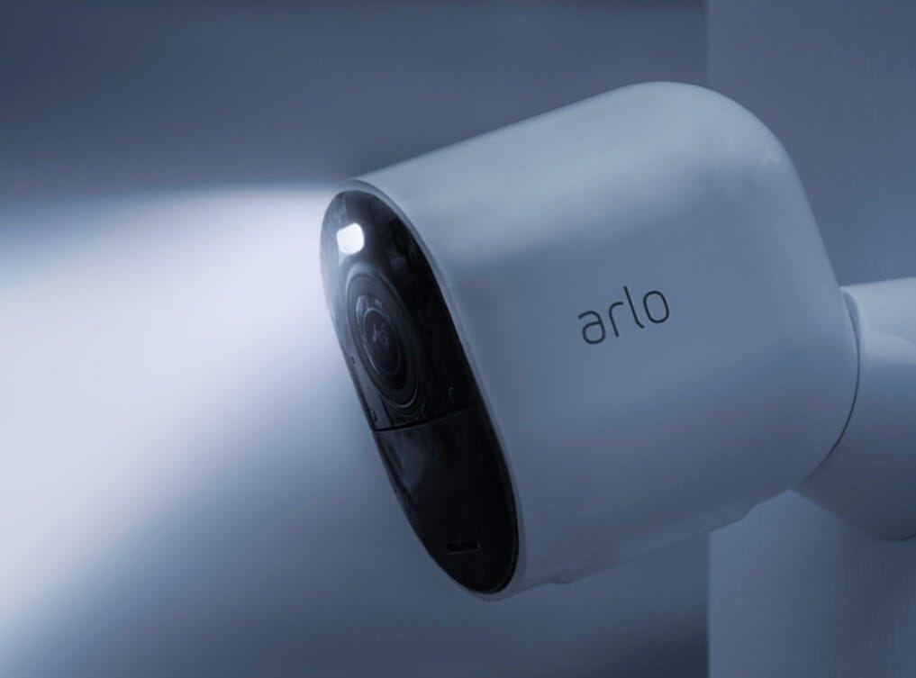 Arlo Ultra connected security camera