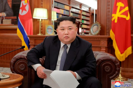 Ap North Korea China Kim S Agenda I File Prk