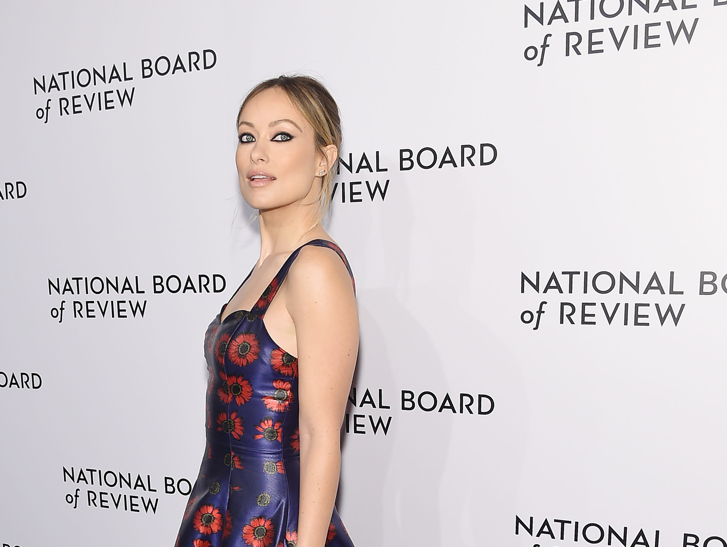 NEW YORK, NY - JANUARY 08: Olivia Wilde attends The National Board of Review Annual Awards Gala at Cipriani 42nd Street on January 8, 2019 in New York City.  (Photo by Jamie McCarthy/Getty Images for National Board of Review) ORG XMIT: 775259363 ORIG FILE ID: 1079454096