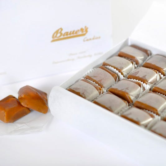 chocolates and caramels
