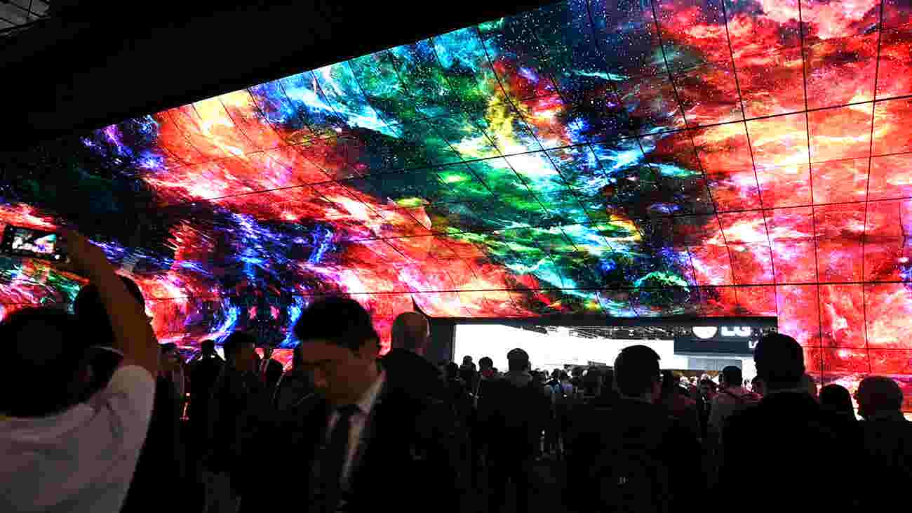 Google's roller coaster to a giant 219-inch TV, five cool things at CES 2019