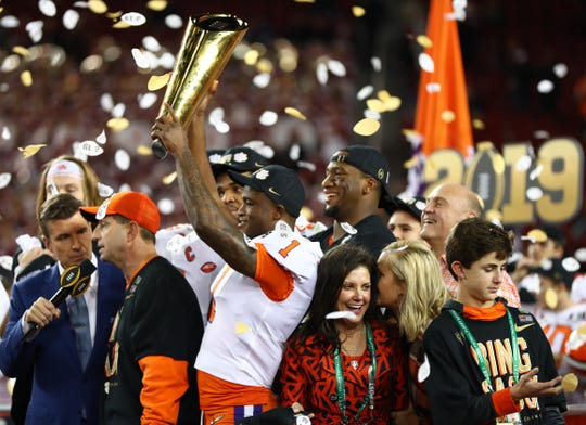 Clemson ran over Alabama in Monday's national title game.