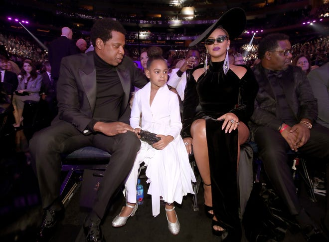 Blue Ivy was credited on a song two days after her birth.