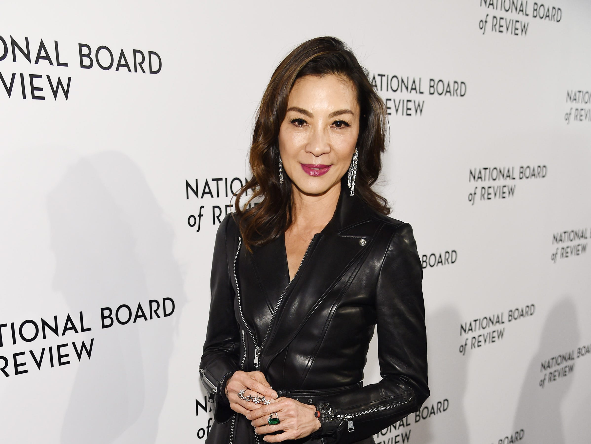 NEW YORK, NY - JANUARY 08:  Michelle Yeoh attends The National Board of Review Annual Awards Gala at Cipriani 42nd Street on January 8, 2019 in New York City.  (Photo by Dimitrios Kambouris/Getty Images for National Board of Review) ORG XMIT: 775259363 ORIG FILE ID: 1079454302