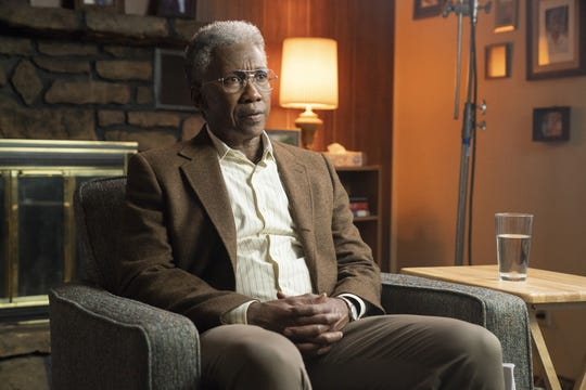 Mahershala Ali plays Arkansas investigator Wayne Hays at three times in his life, including as a 70-year-old in 2015.