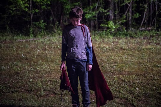 "The Superman legend gets a sinister twist with superpowered alien boy Brandon Breyer (Jackson A. Dunn) in ""Brightburn."""