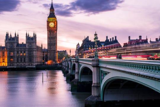 London in 2019.