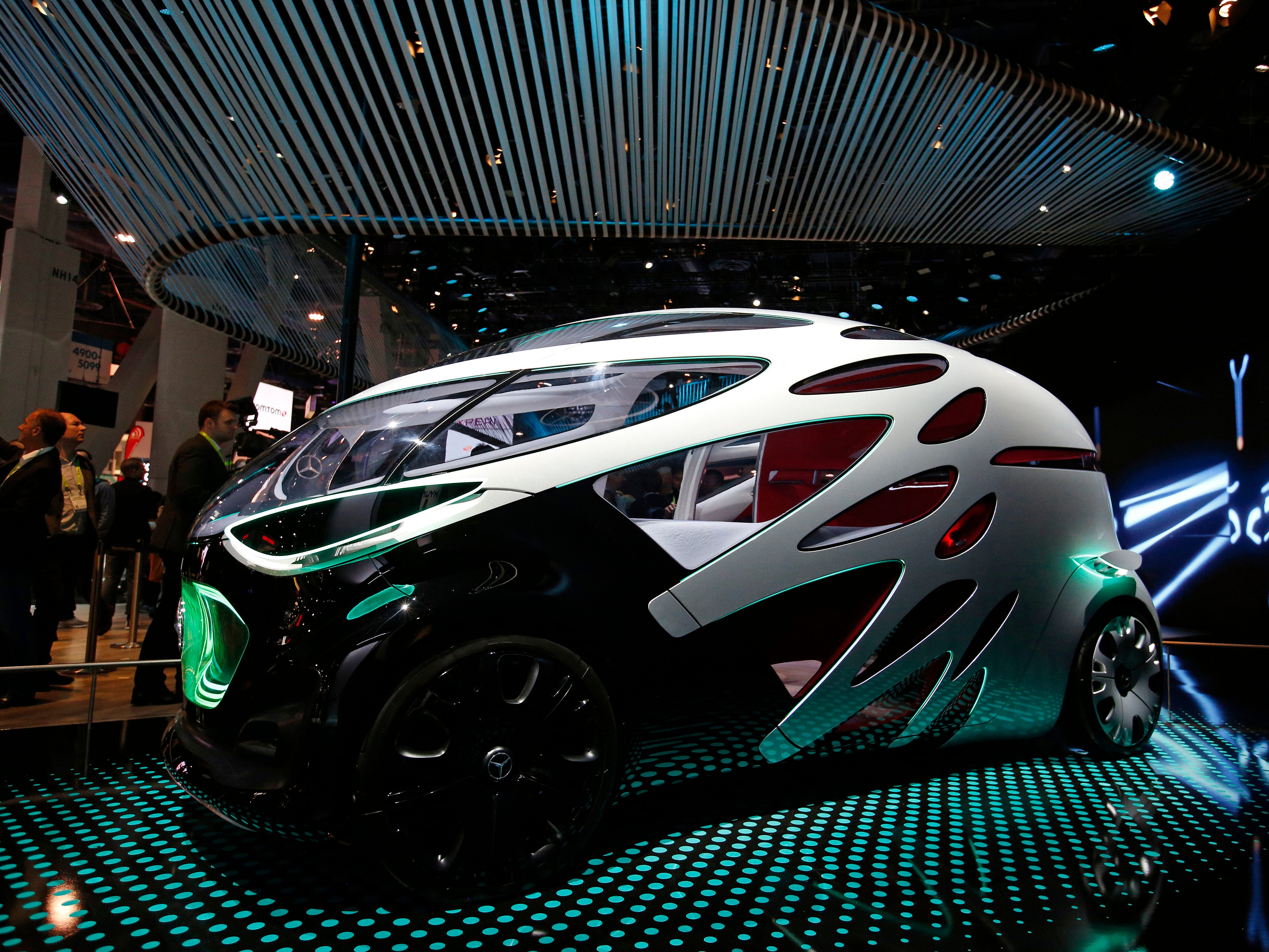 The Mercedes-Benz Vision Urbanetic.