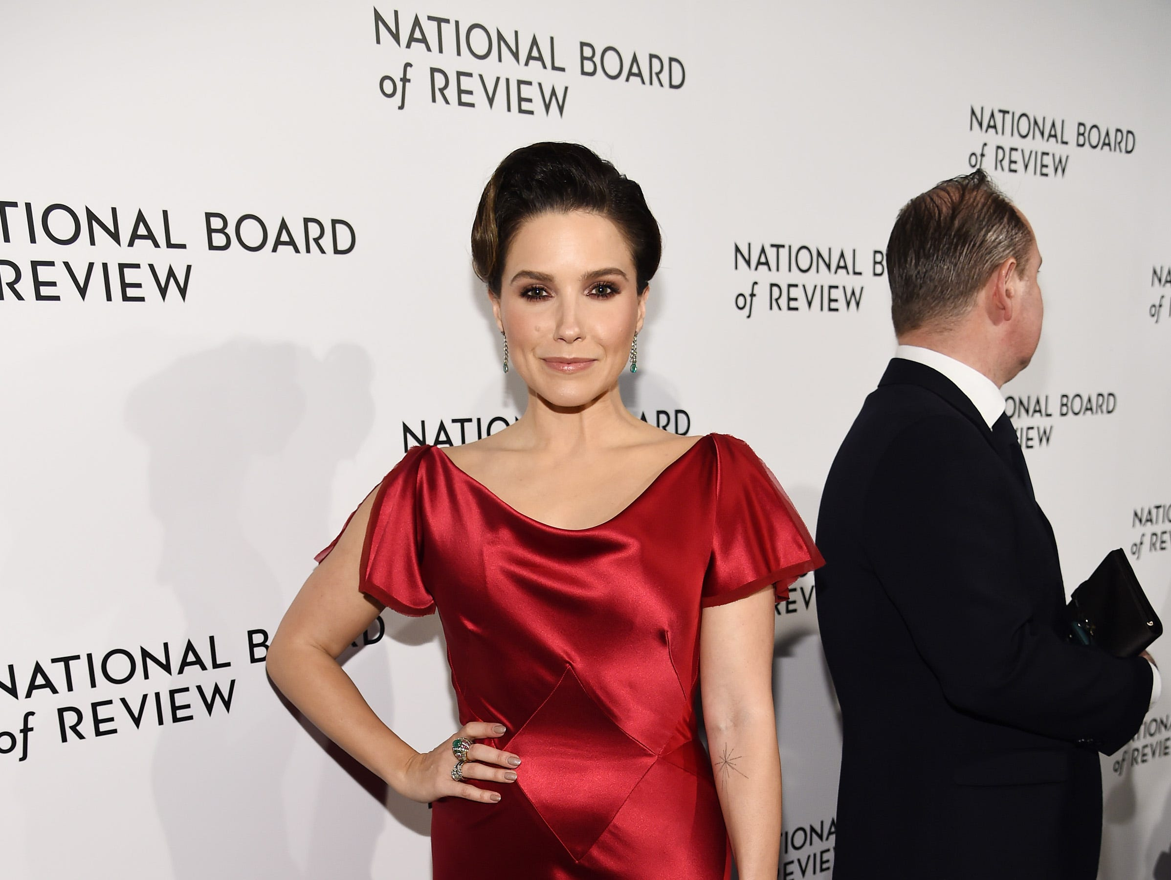 NEW YORK, NY - JANUARY 08: Sophia Bush attends The National Board of Review Annual Awards Gala at Cipriani 42nd Street on January 8, 2019 in New York City.  (Photo by Dimitrios Kambouris/Getty Images for National Board of Review) ORG XMIT: 775259363 ORIG FILE ID: 1079454434