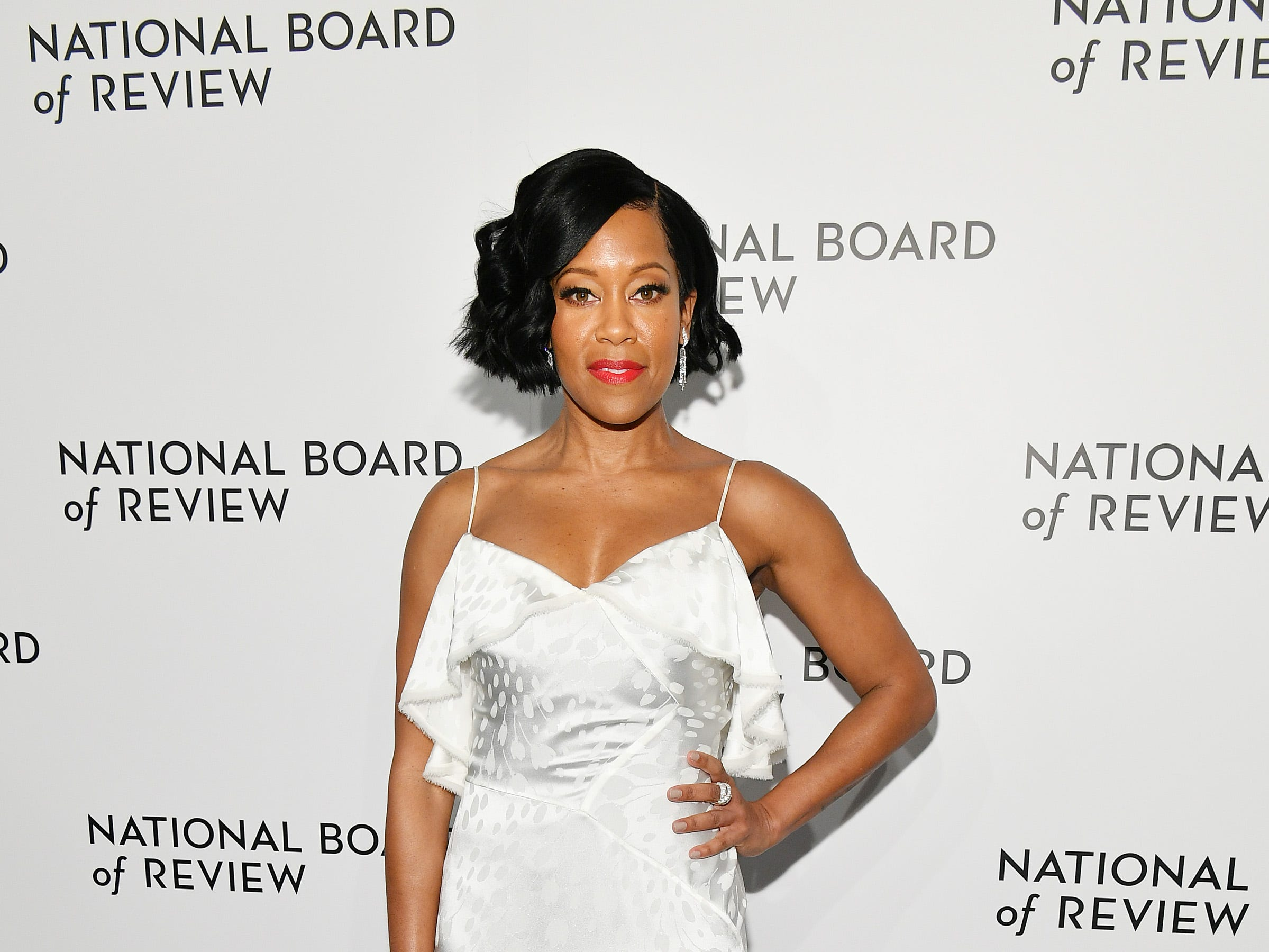 NEW YORK, NY - JANUARY 08:  Regina King attends The National Board of Review Annual Awards Gala at Cipriani 42nd Street on January 8, 2019 in New York City.  (Photo by Dia Dipasupil/Getty Images for National Board of Review) ORG XMIT: 775259363 ORIG FILE ID: 1079453156