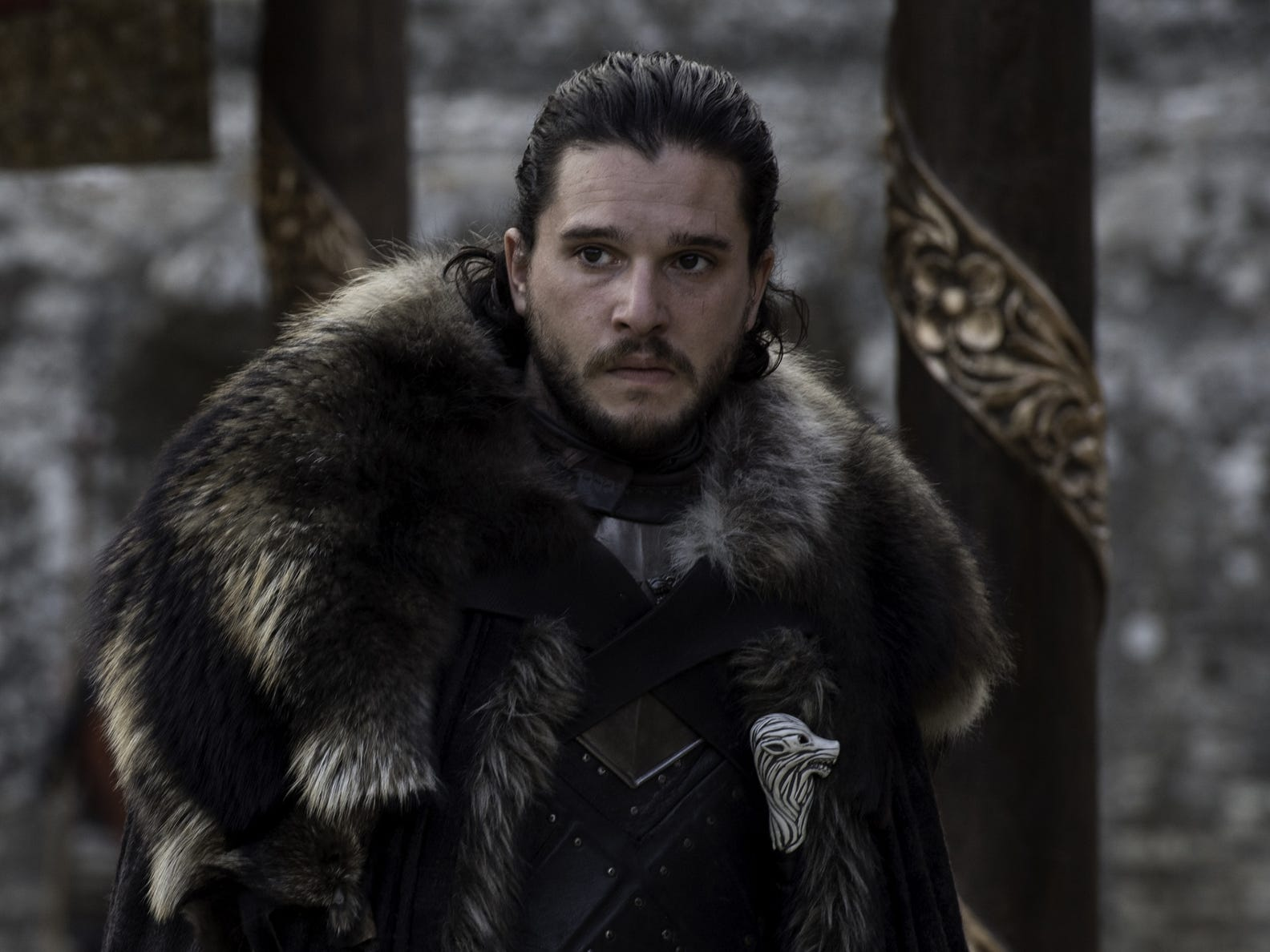 "Kit Harington as Jon Snow in ""Game of Thrones"""