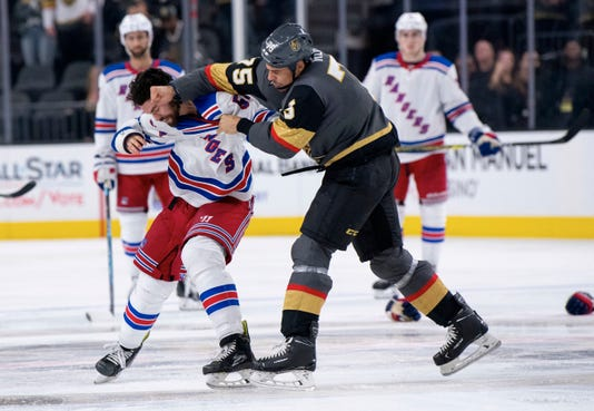 Ap Rangers Golden Knights Hockey S Hkn Usa Nv