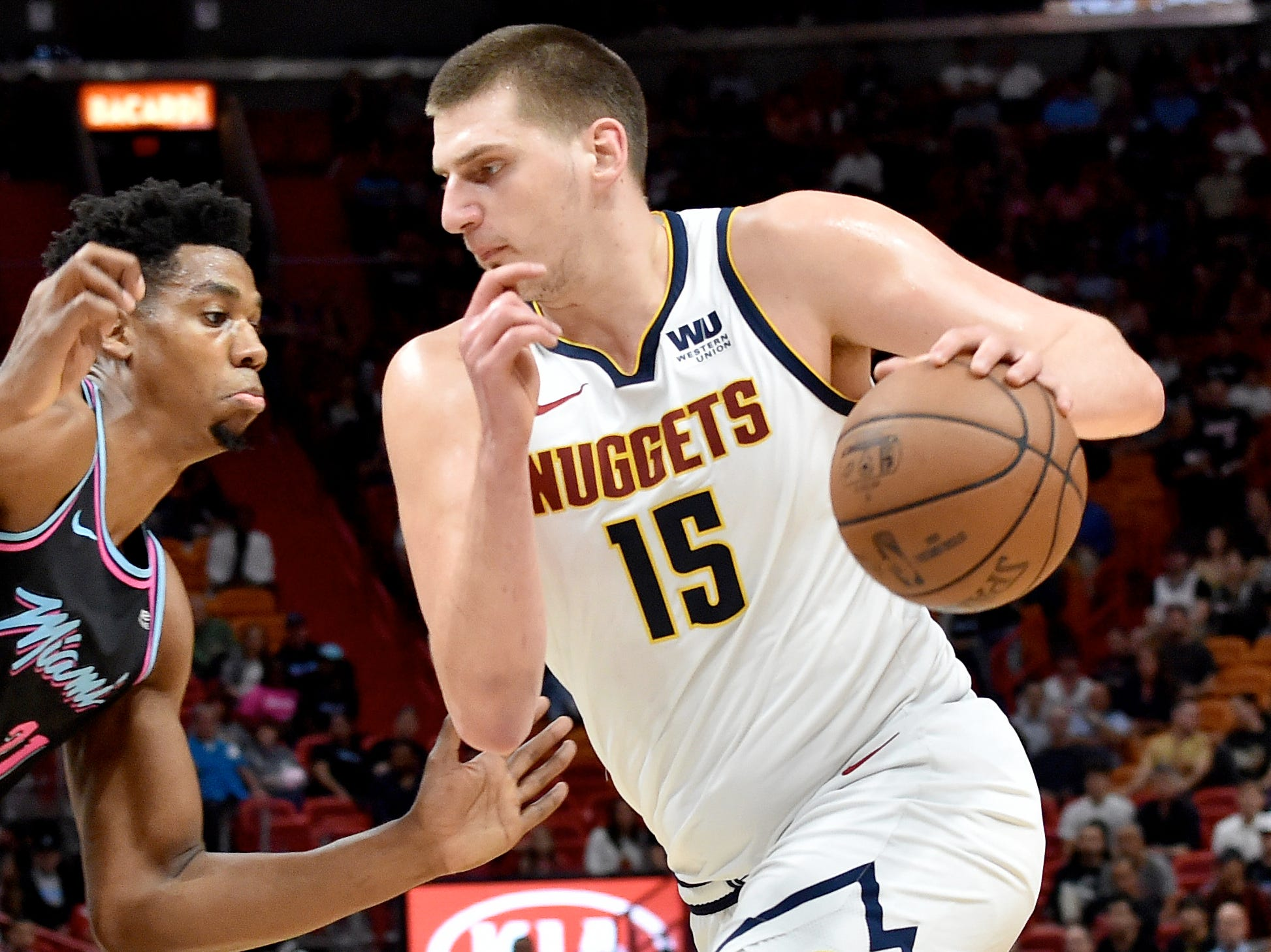 47. Nikola Jokic, Nuggets (Jan. 8): 29 points, 11 rebounds, 10 assists in 103-99 win over Heat (fourth of season).