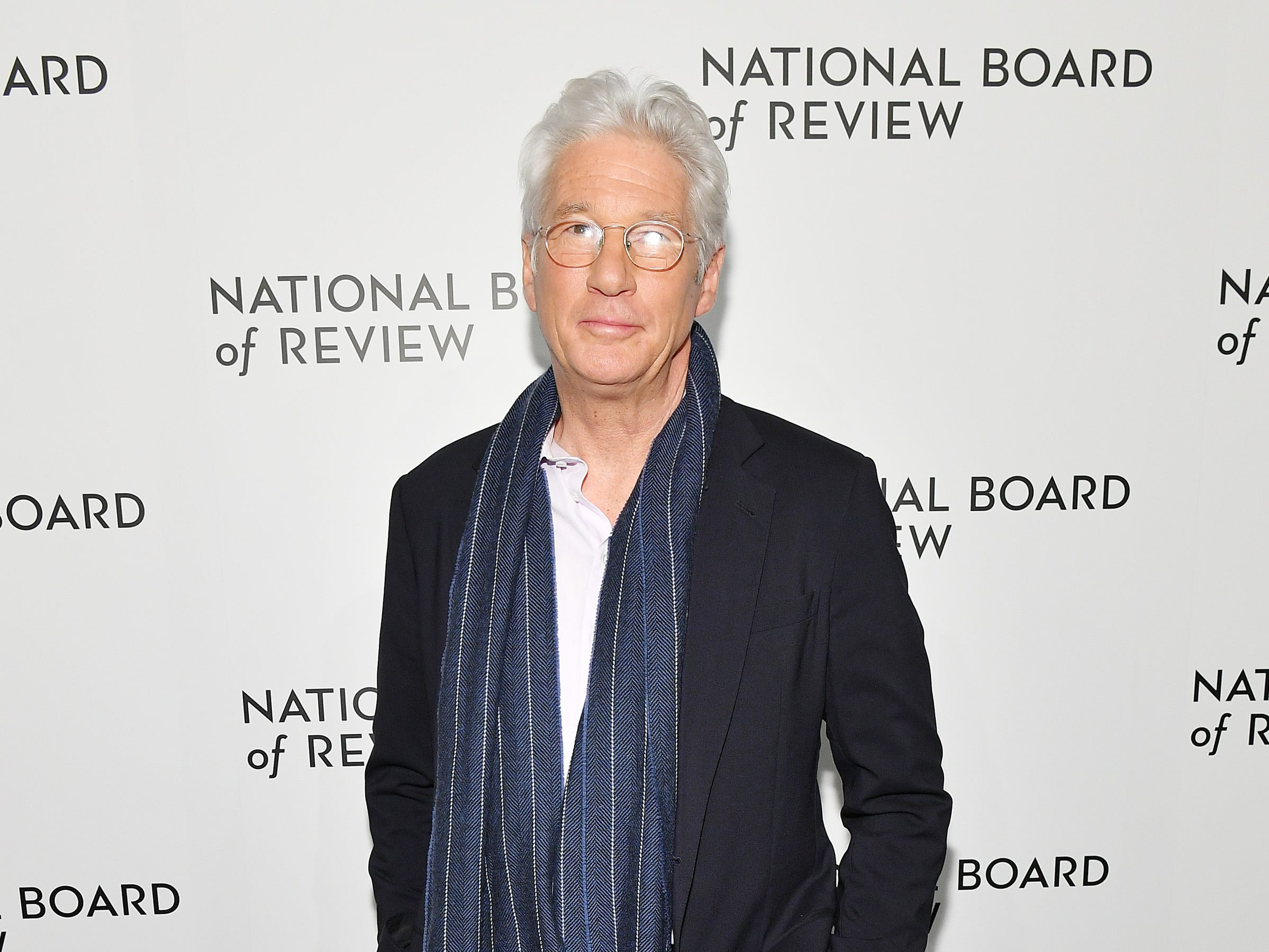 NEW YORK, NY - JANUARY 08:  Richard Gere attends The National Board of Review Annual Awards Gala at Cipriani 42nd Street on January 8, 2019 in New York City.  (Photo by Dia Dipasupil/Getty Images for National Board of Review) ORG XMIT: 775259363 ORIG FILE ID: 1079454178