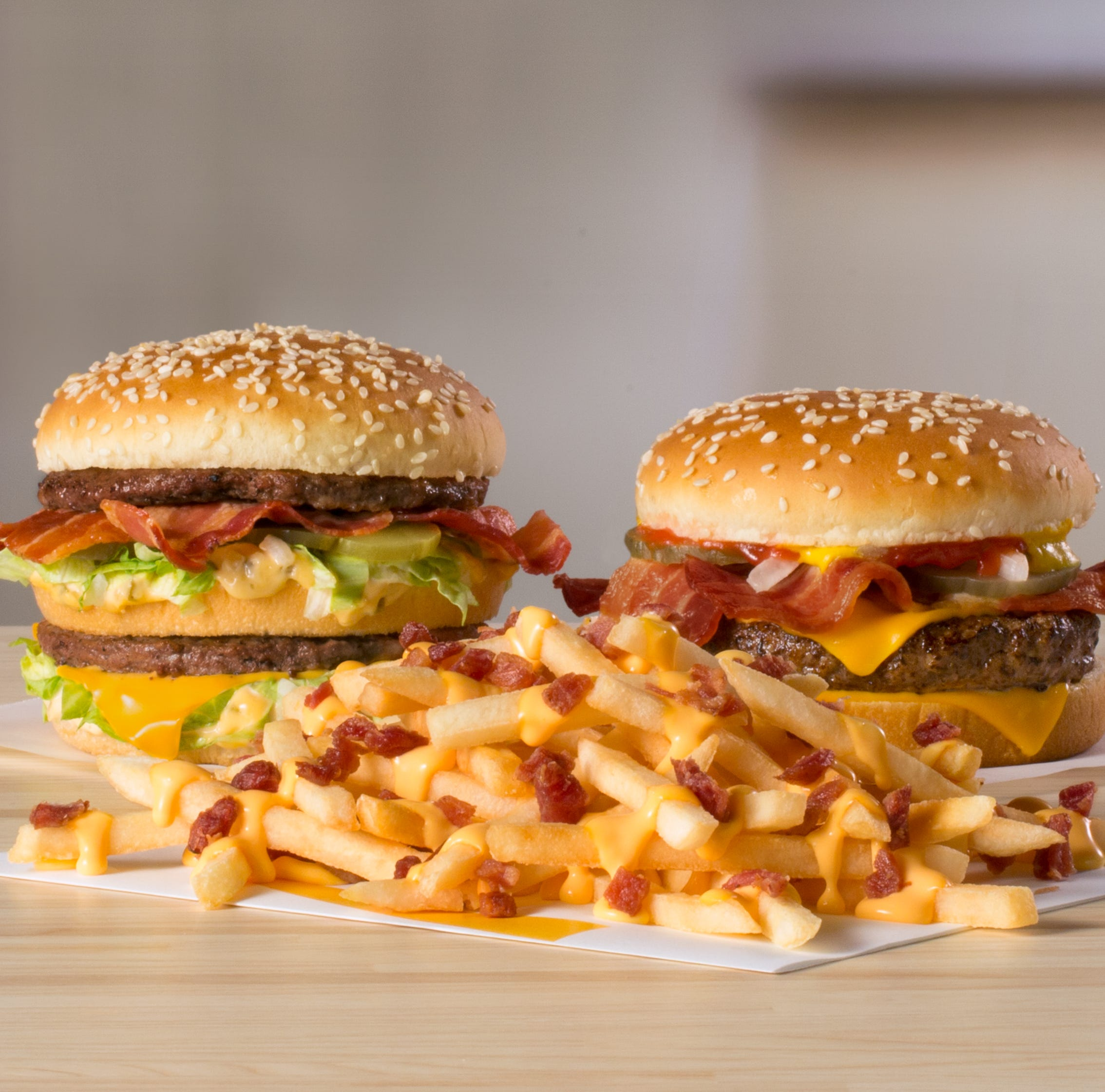 McDonald's goes bacon crazy: Cheesy Bacon Fries, Big Mac Bacon and Quarter Pounder Bacon