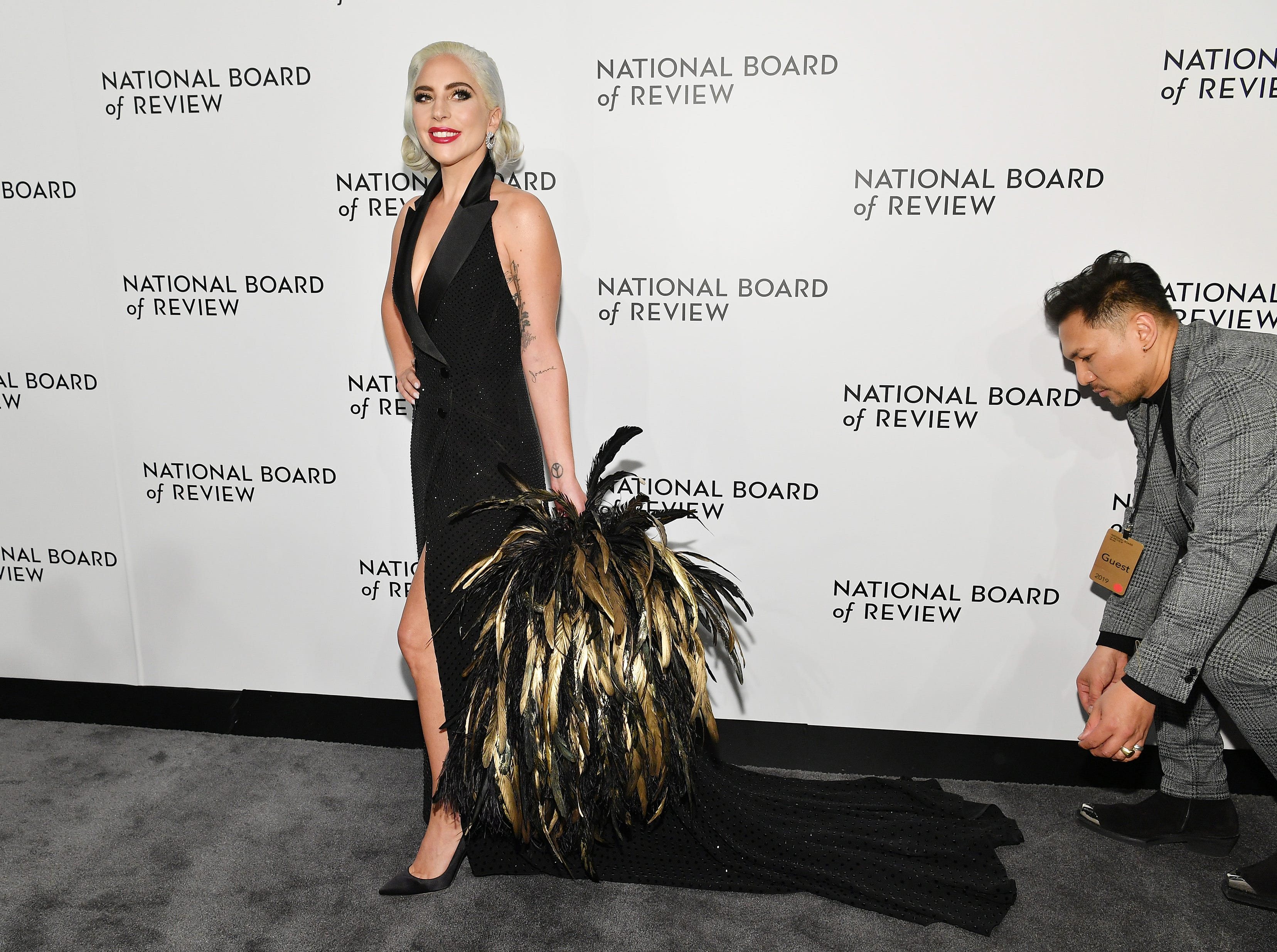 NEW YORK, NY - JANUARY 08:  Lady Gaga attends The National Board of Review Annual Awards Gala at Cipriani 42nd Street on January 8, 2019 in New York City.  (Photo by Dia Dipasupil/Getty Images for National Board of Review) ORG XMIT: 775259363 ORIG FILE ID: 1079453742