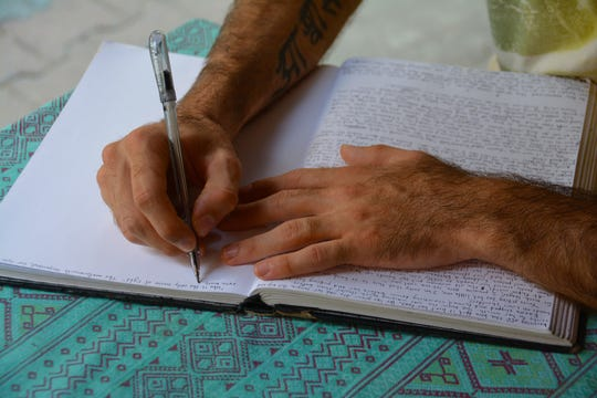Among many benefits, the act of journaling on a regular basis encourages creativity
