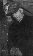 This photograph of Ed Gein ran in The Post-Crescent shortly after his arrest in 1957.