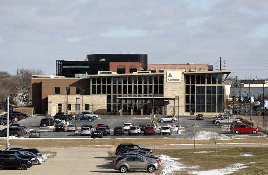 A section of Ascension Medical Group's parking lot in downtown Neenah is targeted for development as multifamily housing.