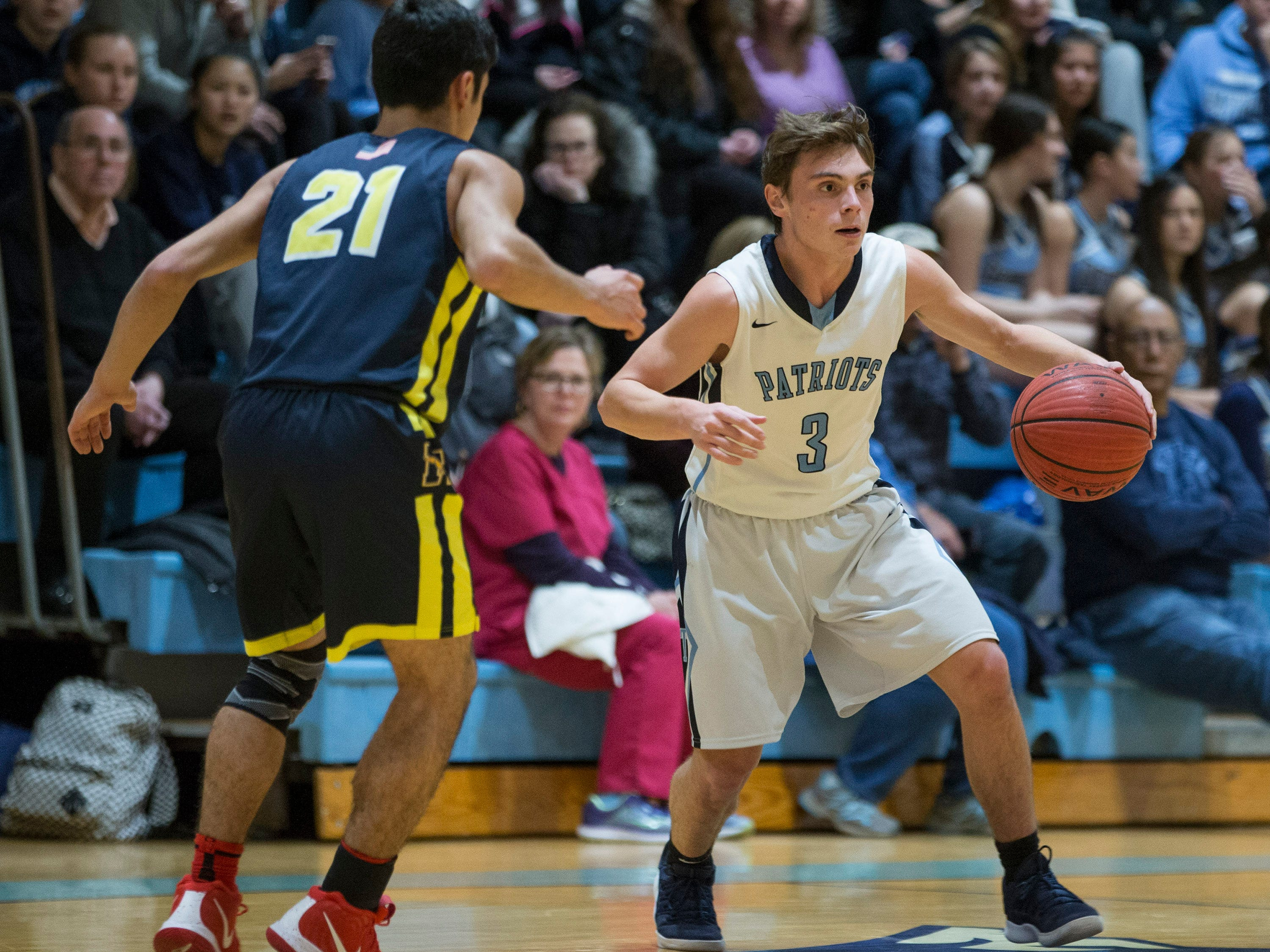 Marlboro vs Freehold Township basketball. 