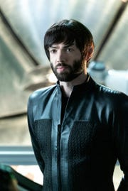 "Ep #210 - Ethan Peck as Spock in the CBS All Access series, ""Star Trek: Discovery."""