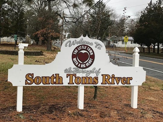 South Toms River sign