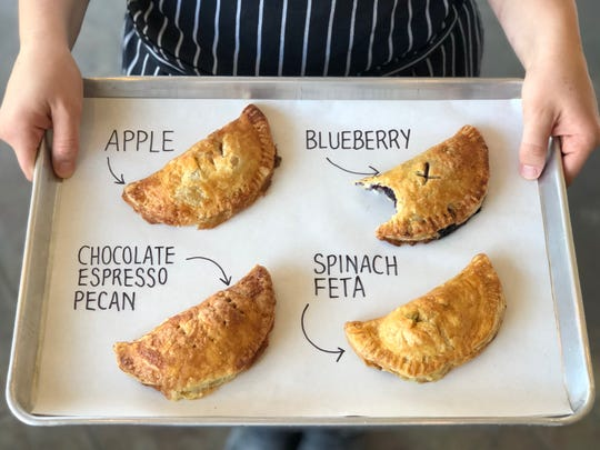 A selection of hand pies from Booskerdoo Coffee & Baking Co.