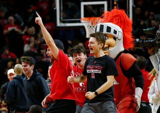 Ncaa Basketball Ohio State At Rutgers