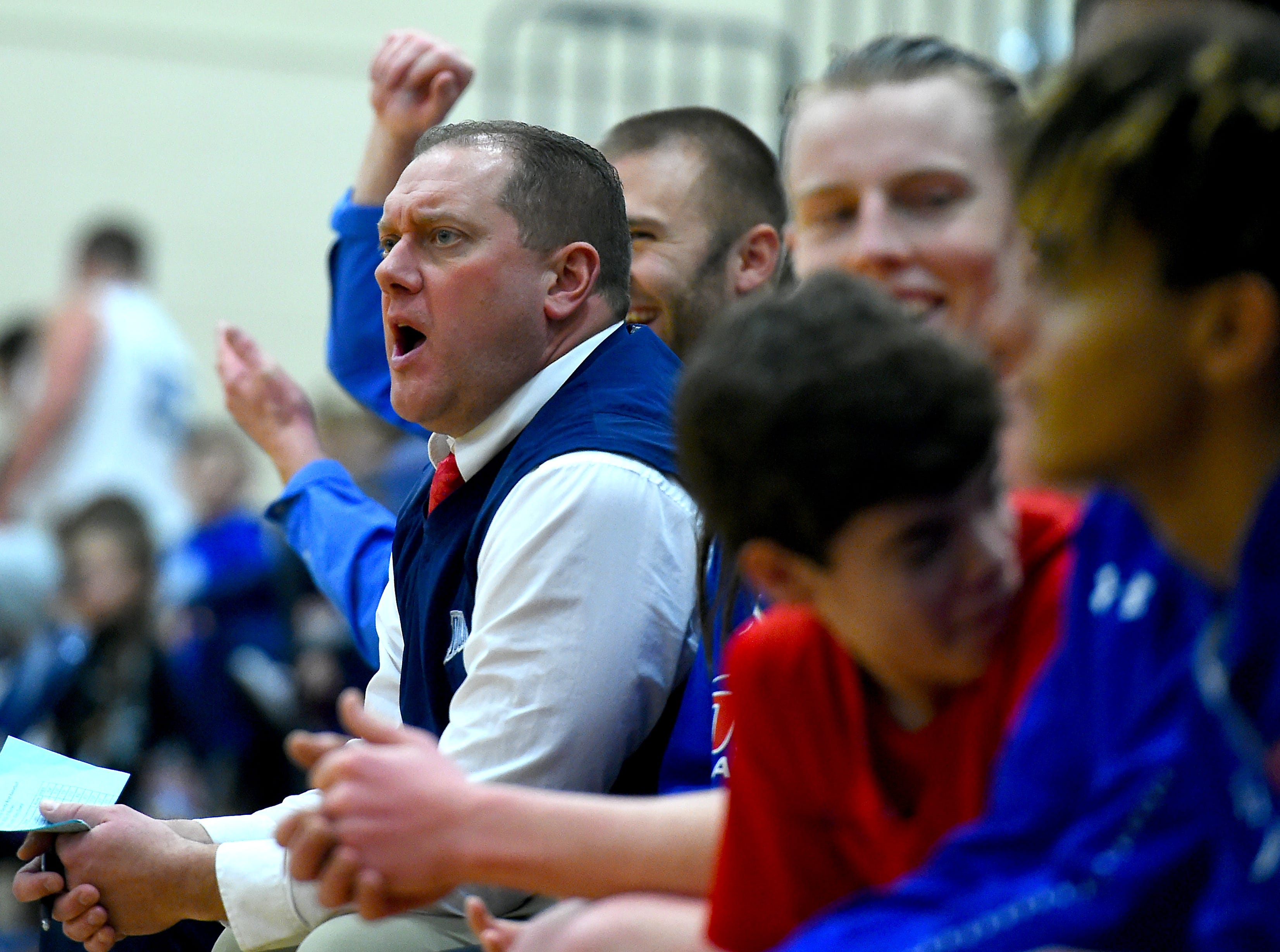 Owego at Maine-Endwell boys basketball. Wednesday, January 9, 2018.
