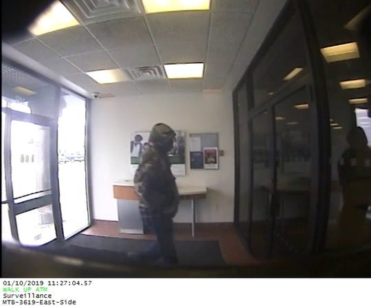 The Binghamton Police Department say a man robbed the East Side Branch of M&T Bank on 149 Robinson Street Thursday morning.
