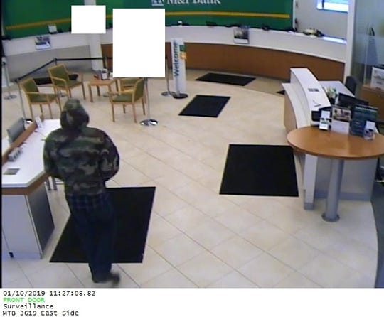 The Binghamton Police Department is searching for a man who robbed the East Side Branch of M&T Bank on 149 Robinson Street Thursday morning.