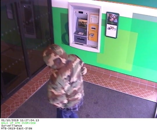 The Binghamton Police Department is looking for a man who robbed the East Side Branch of M&T Bank on 149 Robinson Street Thursday morning. Police say he left the area on foot and then fled by vehicle.