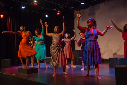 The Auburn Public Theatre produced Ntozake Shange's 'For Colored Girls Who Have Considered Suicide/When the Rainbow is Enuf' in the winter of 2018.