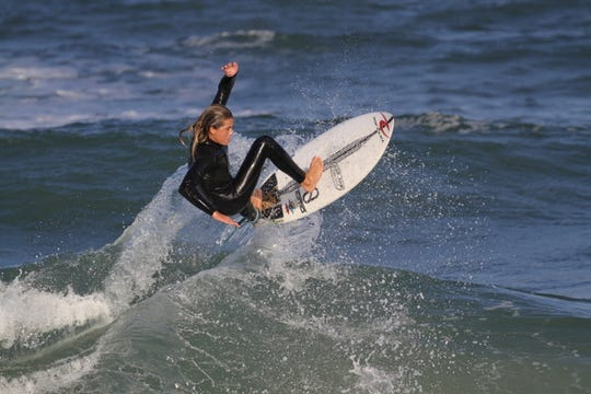 Cocoa Beach's William Hedleston, 14, will be among the youngest surfers competing in the Florida Pro this year.