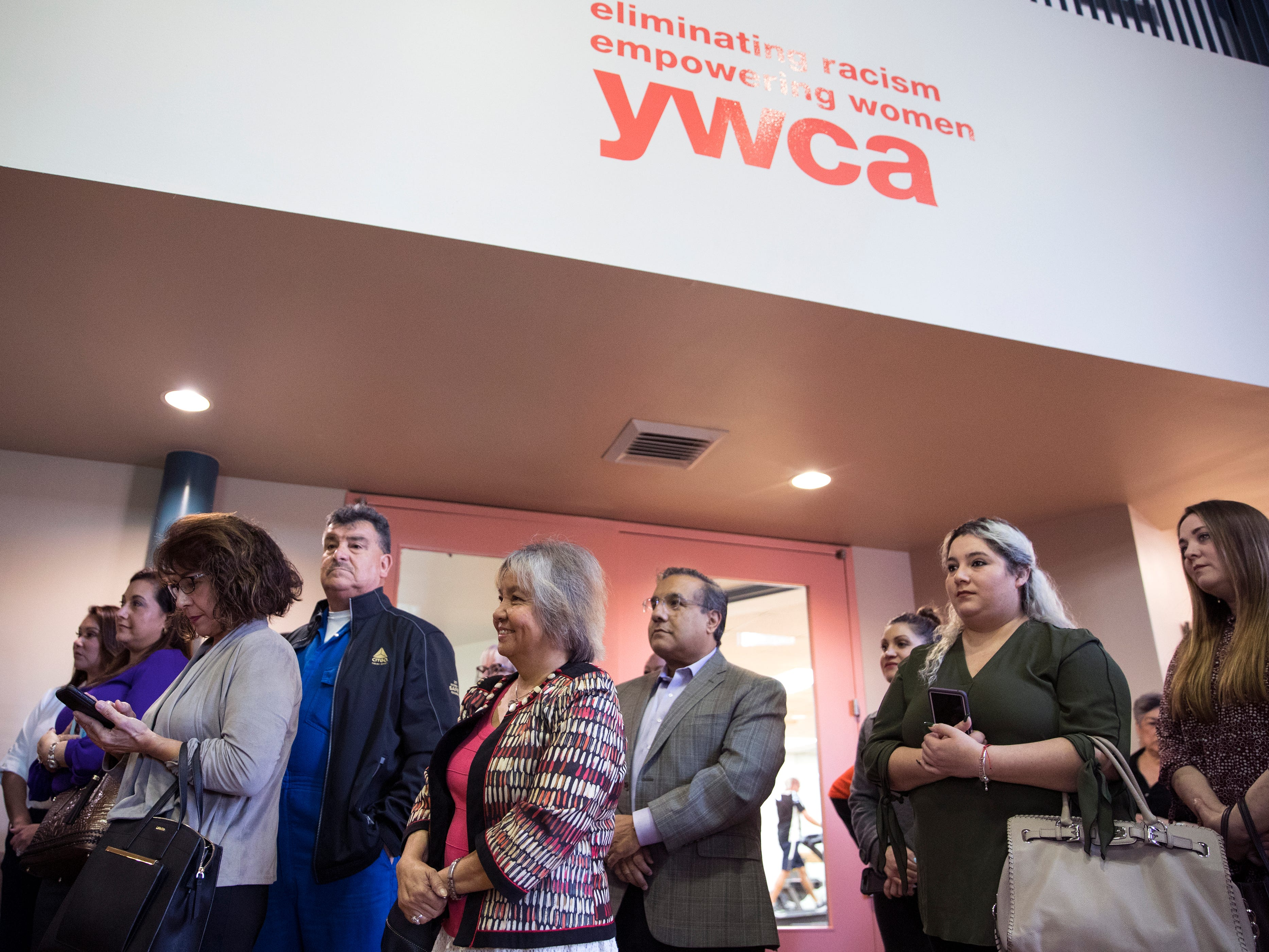 Members of the community and former honorees of the Y Women in Careers attend the announcement of this year's current honorees at the YWCA on Thursday, January 10, 2019. Since 1979, 283 women have been honored.