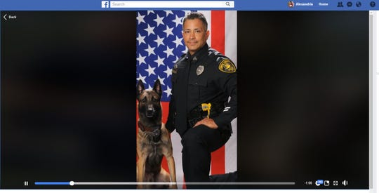 The Corpus Christi Police Department posted a video to its Facebook page after K-9 Indy's retirement. Indy, who served the department for nearly seven years, will live with his former handler Senior Officer Jason Lavastida, who retires in February after 20 years of service.