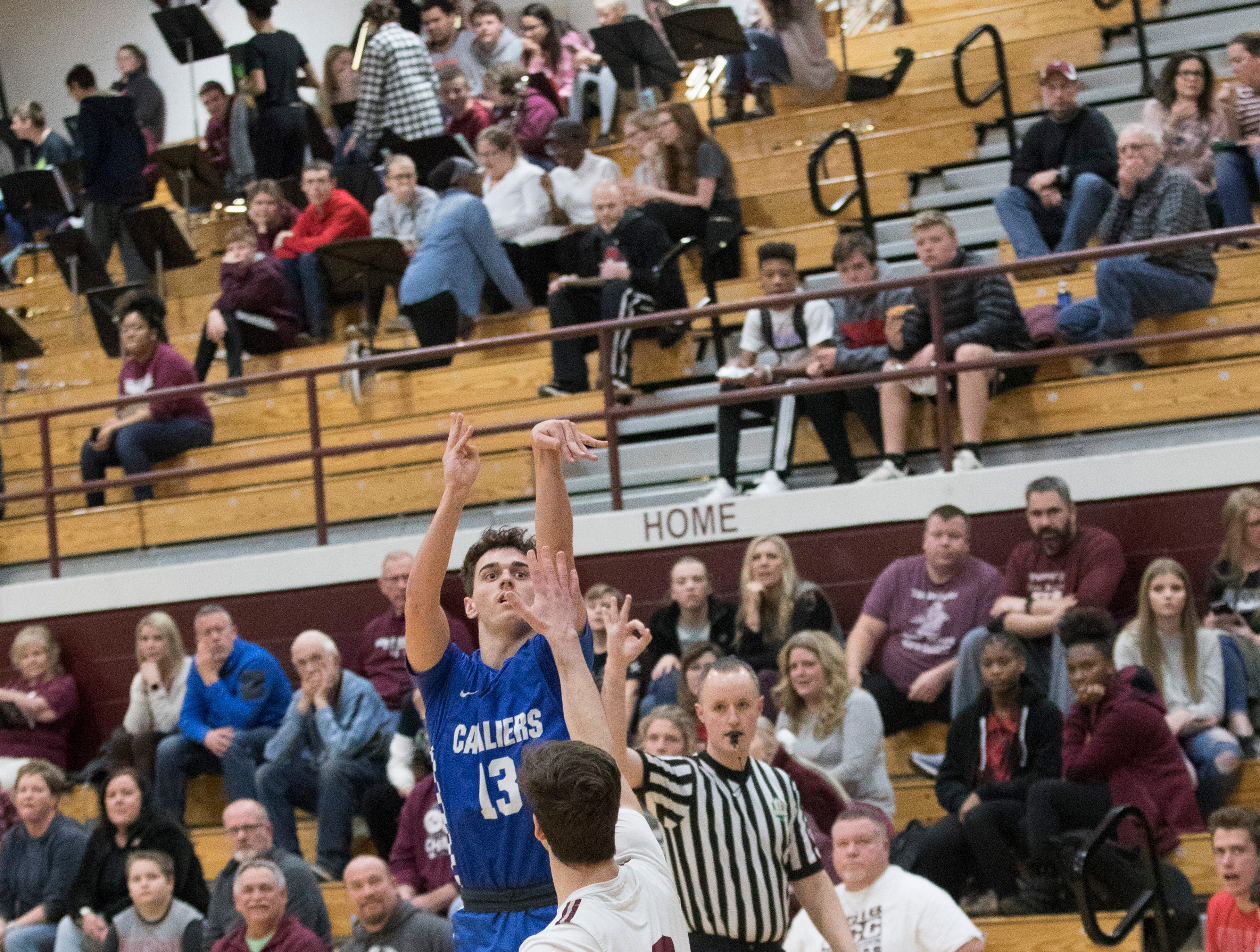 Canal Winchester High School defeated Chillicothe High School Wednesday night 70-67 in Canal Winchester, Ohio.
