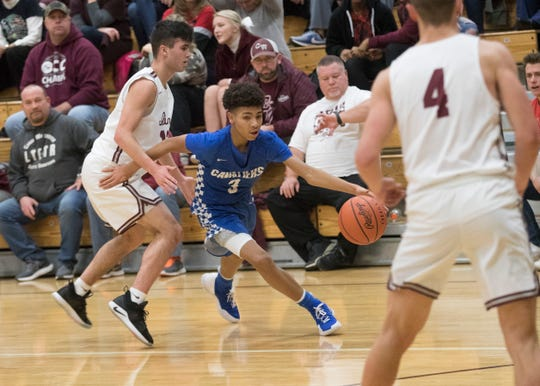 Chillicothe basketball's Tre Beard earned the Gazette's athlete of the week honors as he averaged 17.6 points per game in three games on the week for CHS.