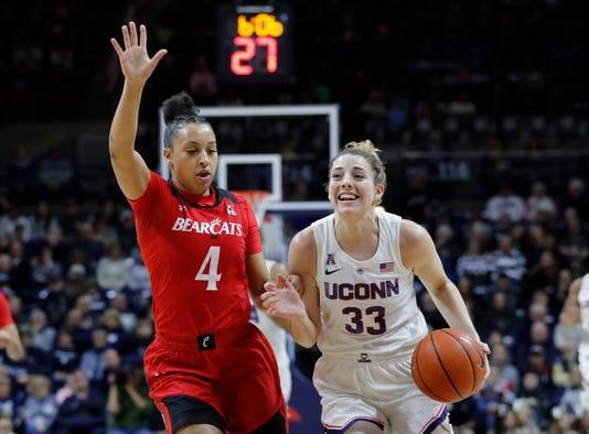Ncaa Womens Basketball Cincinnati At Connecticut
