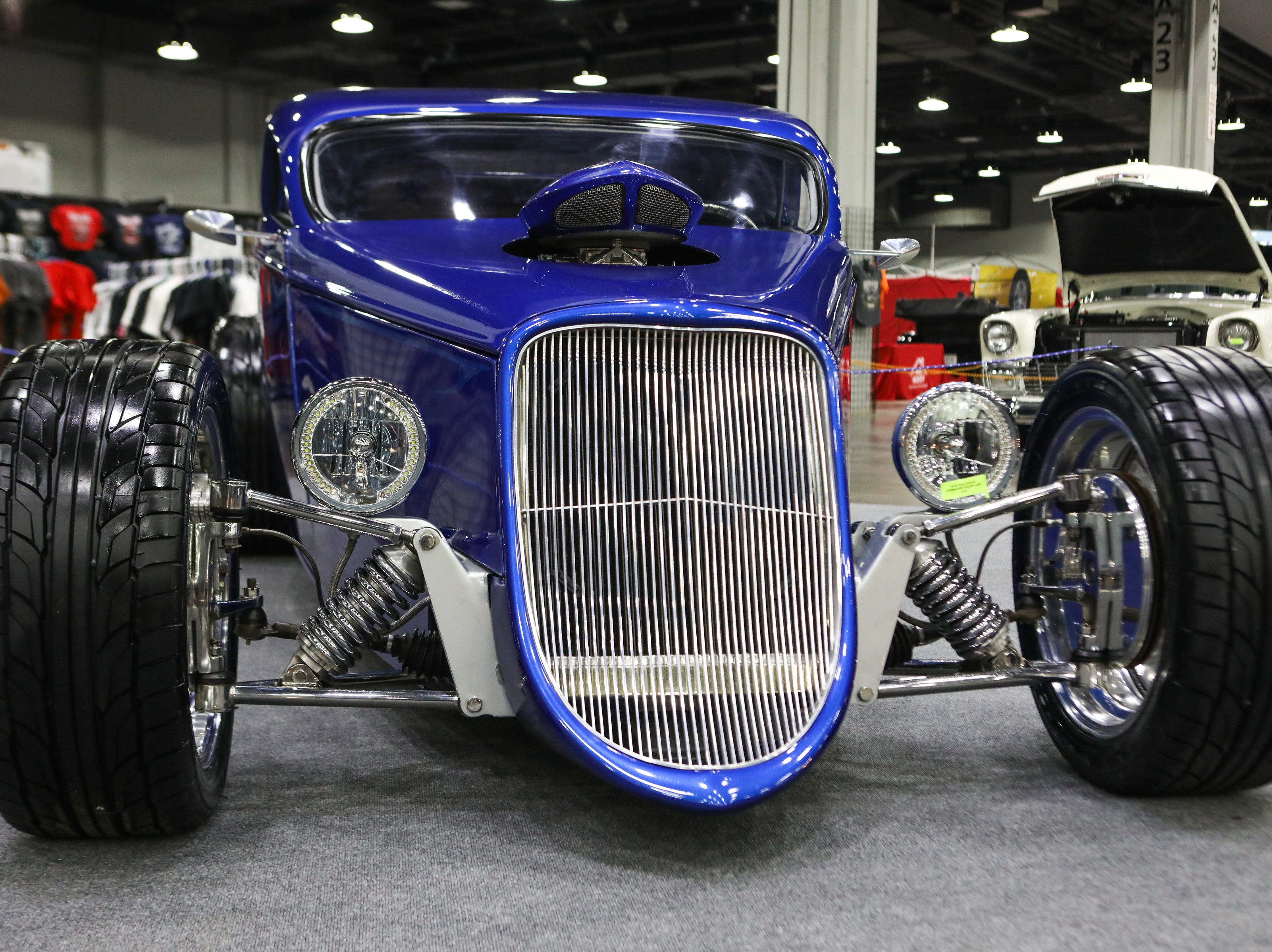 A 1933 Ford Coupe. The 2019 annual KOI Cavalcade of Customs Car Show will feature hundreds of cars, trucks, motorcycles and other vehicles to view at the Duke Energy Convention Center.