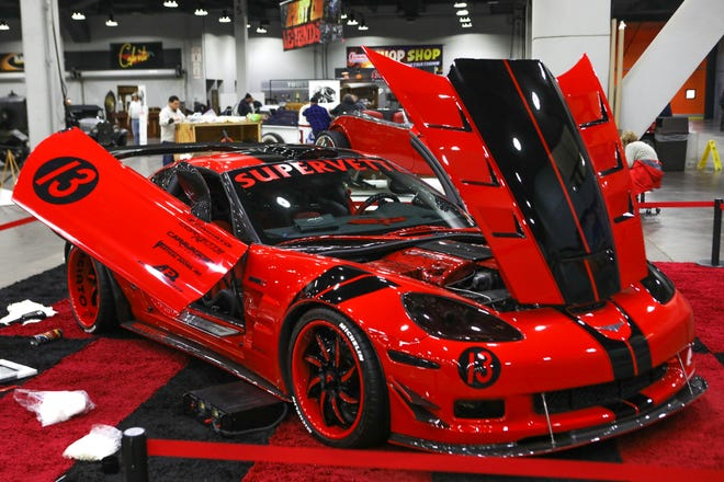 A 2013 Supervette ZR8X. The 2019 annual KOI Cavalcade of Customs Car Show will feature hundreds of cars, trucks, motorcycles and other vehicles to view at the Duke Energy Convention Center.