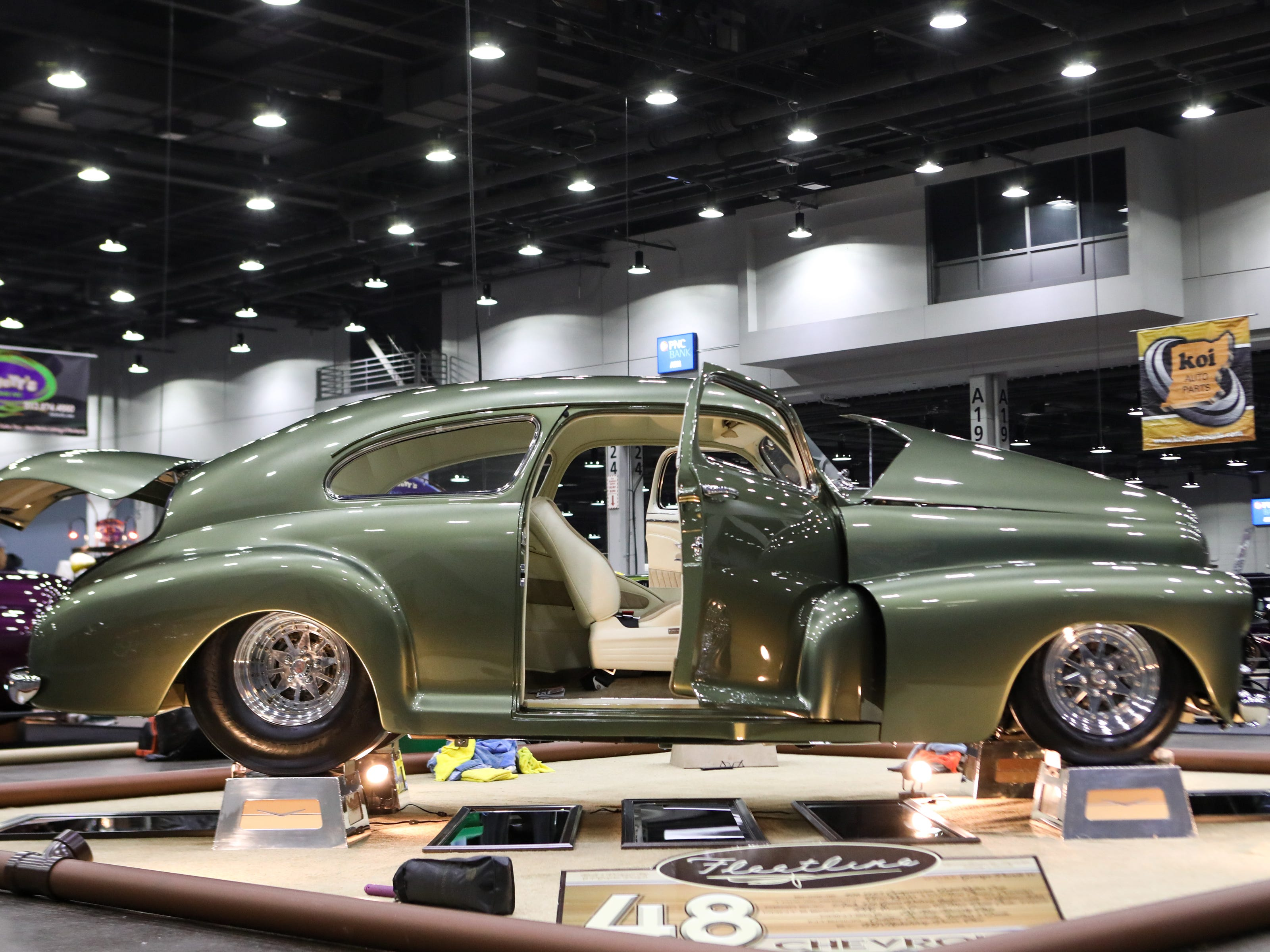 The 2019 annual KOI Cavalcade of Customs Car Show will feature hundreds of cars, trucks, motorcycles and other vehicles to view at the Duke Energy Convention Center.