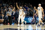Xavier erased a 17-point first-half deficit Wednesday night and beat Georgetown 81-75 in front of a sellout Cintas Center crowd