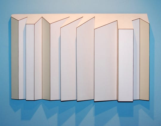 """Cool White"" by Harriet FeBland is among the works on display in ""The National Association of Women Artists 130th Anniversary Exhibition: Wall Sculpture,"" which just opened at The Center for Contemporary Art in Bedminster."
